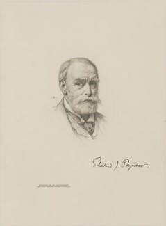 Sir Edward John Poynter, 1st Bt, after Sir Edward John Poynter, 1st Bt, 1904 - NPG D9904 - © National Portrait Gallery, London