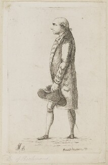 Charles Lennox, 3rd Duke of Richmond and Lennox, by James Sayers, published by  Charles Bretherton - NPG D9917