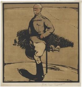 Frederick Sleigh Roberts, 1st Earl Roberts, after William Nicholson - NPG D9923