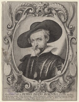 Sir Peter Paul Rubens, by Wenceslaus Hollar, mid 17th century - NPG  - © National Portrait Gallery, London
