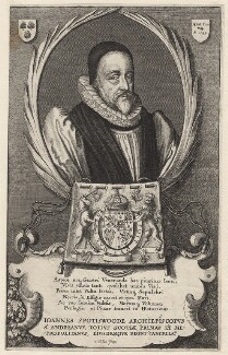 John Spottiswoode, by Wenceslaus Hollar - NPG D9946