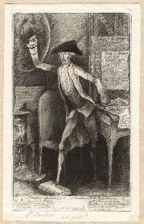 'Frontispiece to the 2d Edition of Ld St....e's Observations on Mr Pitt's Plans of Finance', by James Sayers, published by  Thomas Cornell, published 29 May 1786 - NPG D9951 - © National Portrait Gallery, London