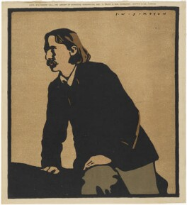 Robert Louis Stevenson, after Joseph Simpson, 1902 - NPG D9956 - © National Portrait Gallery, London