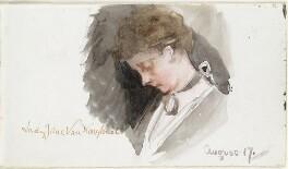 Lady Jane Charlotte Elizabeth Van Koughnet (née Alexander), by Louisa Anne Beresford - NPG D23146(52)