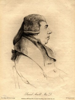 Samuel Arnold, by and published by William Daniell, after  George Dance - NPG D998