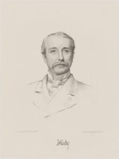 Garnet Joseph Wolseley, 1st Viscount Wolseley, by Joseph Brown, after  Henry Tanworth Wells - NPG D9989