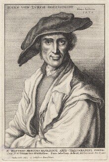 Hans von Zürich, by Wenceslaus Hollar, after  Hans Holbein the Younger - NPG D9997
