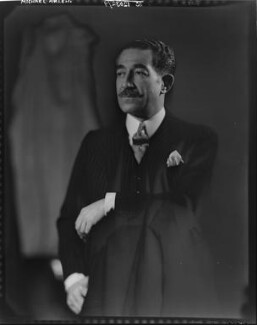 Michael Arlen, by Howard Coster, 1935 - NPG x10326 - © National Portrait Gallery, London