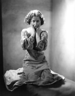 Dame Peggy Ashcroft as Juliet in 'Romeo and Juliet', by Howard Coster, 1935 - NPG x10327 - © National Portrait Gallery, London