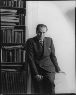 Sidney Lewis Bernstein, 1st Baron Bernstein of Leigh, by Howard Coster - NPG x10372