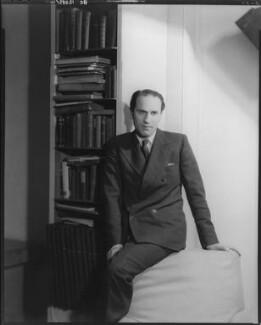 Sidney Lewis Bernstein, 1st Baron Bernstein of Leigh, by Howard Coster - NPG x10374