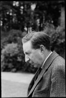 E.M. Forster, by Howard Coster, June 1938 - NPG x10406 - © National Portrait Gallery, London