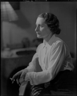 Vera Brittain, by Howard Coster - NPG x10462