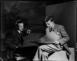 Sir Lennox Randal Francis Berkeley; Benjamin Britten, by Howard Coster, 1938 - NPG x10471 - © National Portrait Gallery, London