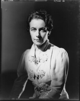 Gladys Calthrop, by Howard Coster - NPG x10495