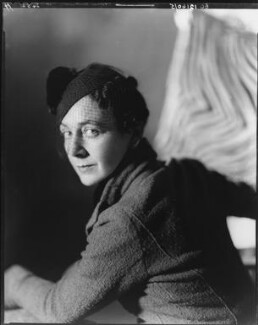 Gladys Calthrop, by Howard Coster - NPG x10496