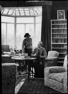 George Douglas Howard Cole; Dame Margaret Isabel Cole, by Howard Coster, 1938 - NPG x10862 - © National Portrait Gallery, London
