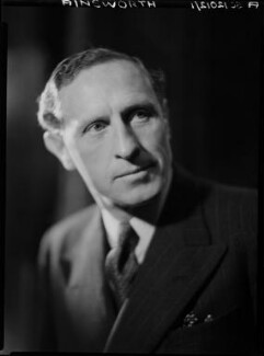 Harrison Ainsworth, by Howard Coster, 1941 - NPG x10959 - © National Portrait Gallery, London