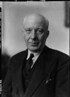 (Edward) Hugh John Neale Dalton, Baron Dalton, by Howard Coster, 1945 - NPG x11188 - © National Portrait Gallery, London
