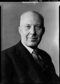(Edward) Hugh John Neale Dalton, Baron Dalton, by Howard Coster, 1940 - NPG x11189 - © National Portrait Gallery, London