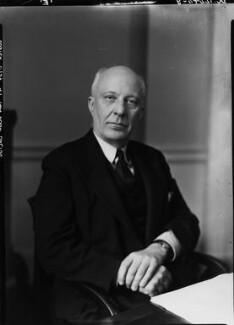 (Edward) Hugh John Neale Dalton, Baron Dalton, by Howard Coster, 1945 - NPG x11196 - © National Portrait Gallery, London