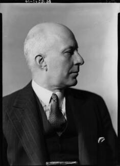 (Edward) Hugh John Neale Dalton, Baron Dalton, by Howard Coster, 1940 - NPG x11200 - © National Portrait Gallery, London