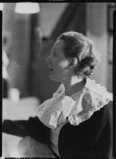Dame Edith Evans (Dame Edith Mary Booth) as Irina Arcadina in John Gielgud's production of 'The Seagull', by Howard Coster - NPG x11778