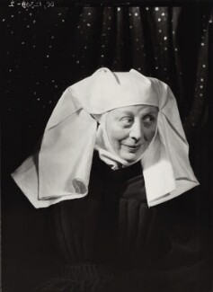 Dame Edith Evans as the nurse in 'Romeo and Juliet', by Howard Coster - NPG x11779