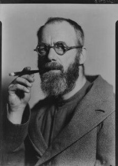 Eric Gill, by Howard Coster - NPG x12026