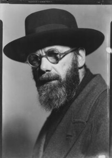 Eric Gill, by Howard Coster - NPG x12028