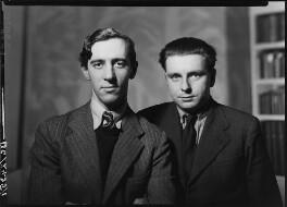 Charles Madge; Tom Harnett Harrisson, by Howard Coster - NPG x12056