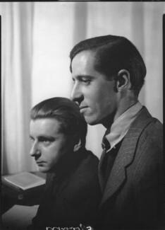 Tom Harnett Harrisson; Charles Madge, by Howard Coster - NPG x12058