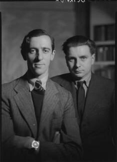 Charles Madge; Tom Harnett Harrisson, by Howard Coster - NPG x12059