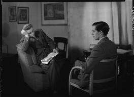 Tom Harnett Harrisson; Charles Madge, by Howard Coster - NPG x12060