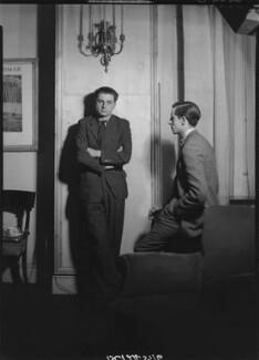 Tom Harnett Harrisson; Charles Madge, by Howard Coster - NPG x12061