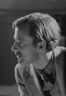 Hugh l'Anson Fausset, by Howard Coster, 1944 - NPG x12212 - © National Portrait Gallery, London