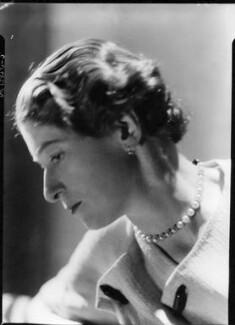 (Winifred Gisela) Yvonne Ffrench, by Howard Coster, 1934 - NPG x12224 - © National Portrait Gallery, London