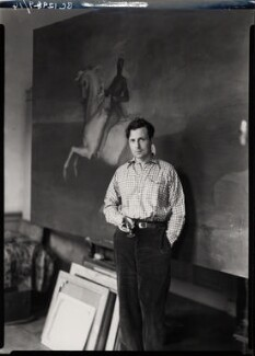 Rex Whistler, by Howard Coster, 1936 - NPG x12302 - © National Portrait Gallery, London