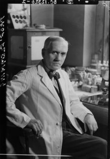 Alexander Fleming, by Howard Coster, 1944 - NPG x12323 - © National Portrait Gallery, London