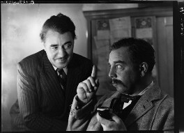 """George Carney; J.B. Priestley as the drunken photographer in """"When we are married"""", by Howard Coster - NPG x13533"""