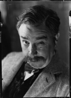"J.B. Priestley as the drunken photographer in ""When we are married"", by Howard Coster - NPG x13540"