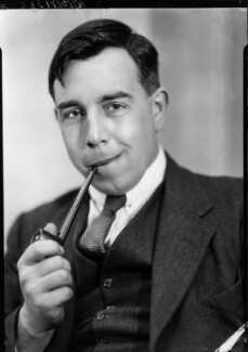 J.B. Priestley, by Howard Coster - NPG x13544