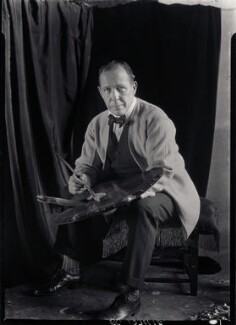 William Orpen, by Howard Coster, 1927 - NPG x13647 - © National Portrait Gallery, London