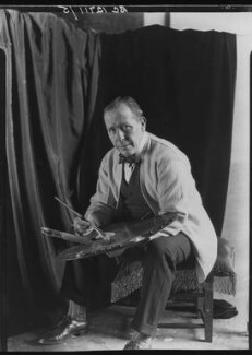 William Orpen, by Howard Coster, 1927 - NPG x13650 - © National Portrait Gallery, London