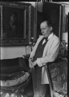 William Orpen, by Howard Coster, 1927 - NPG x13654 - © National Portrait Gallery, London