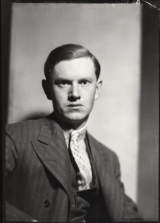 Evelyn Waugh, by Howard Coster - NPG x14416