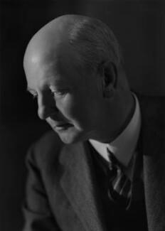 Sir Giles Gilbert Scott, by Howard Coster - NPG x14490