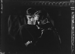John Gielgud; Cecil Winter, by Howard Coster - NPG x14509