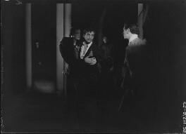 John Gielgud; Glen Byam Shaw; Laurence Kerr Olivier, Baron Olivier, by Howard Coster - NPG x14511