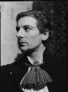 John Gielgud as Mercutio in 'Romeo and Juliet', by Howard Coster, 1935 - NPG  - © National Portrait Gallery, London